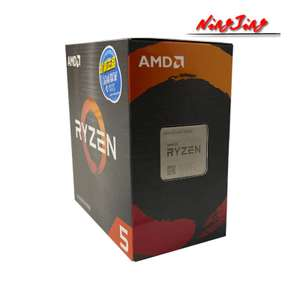 Processeur AMD Ryzen 5 5600X - Socket AM4, 4.6 GHz (299.68€ avec le code PASSION28)