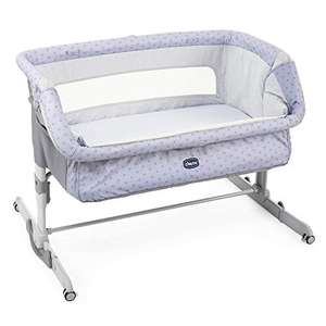 Lit Bébé Cododo Chicco Next2Me Dream Collection 2021 - Silver, 0-6 Mois, 9 kg