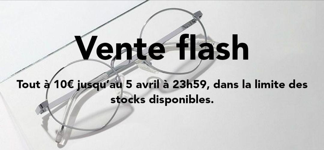 Toutes les paires de lunettes à 19.99€ (sans correction, sans option, frais de port inclus) - Polette.com
