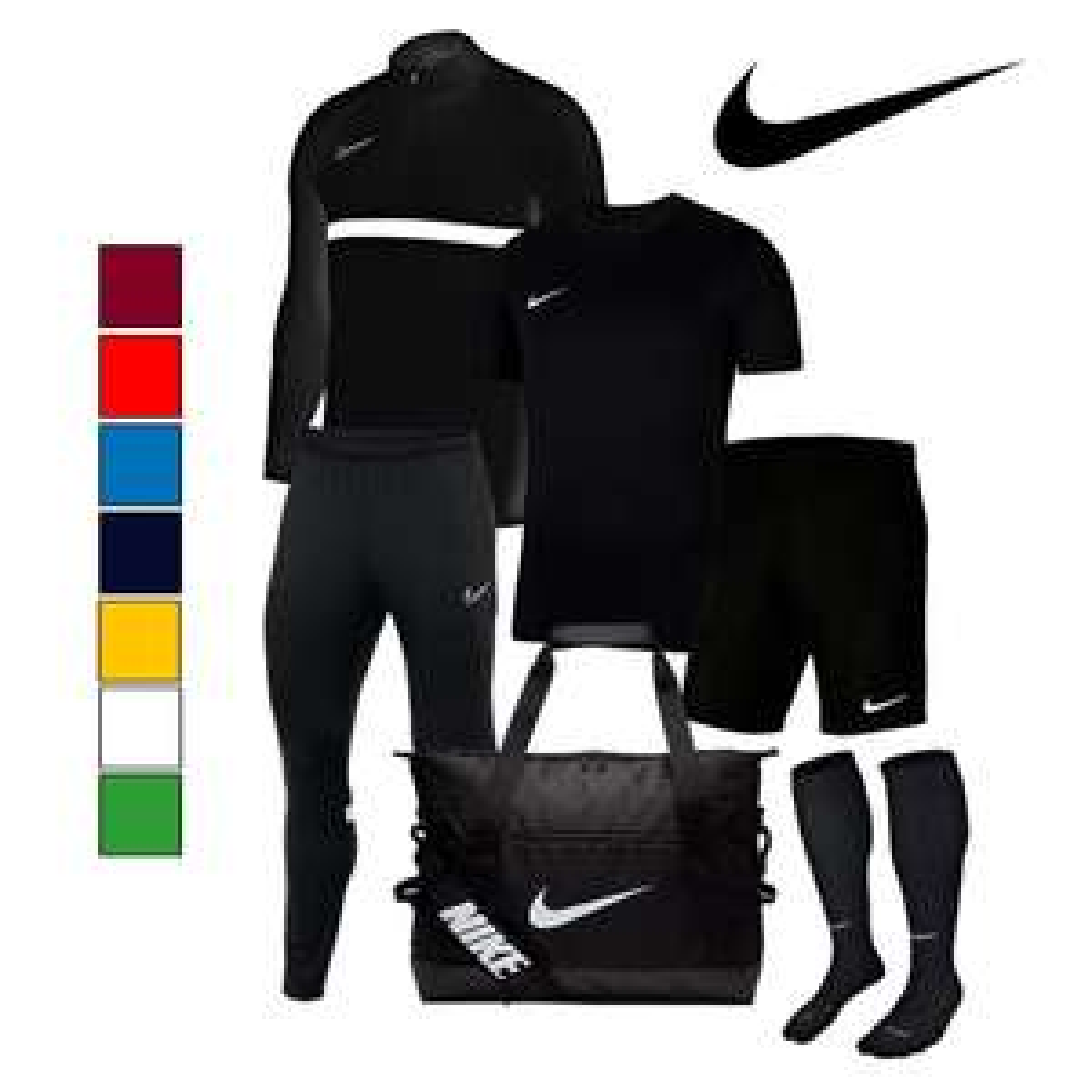 Ensemble sportif Nike Academy 21 (6 pièces) pour Homme - 8 coloris - Tailles du S au 2XL