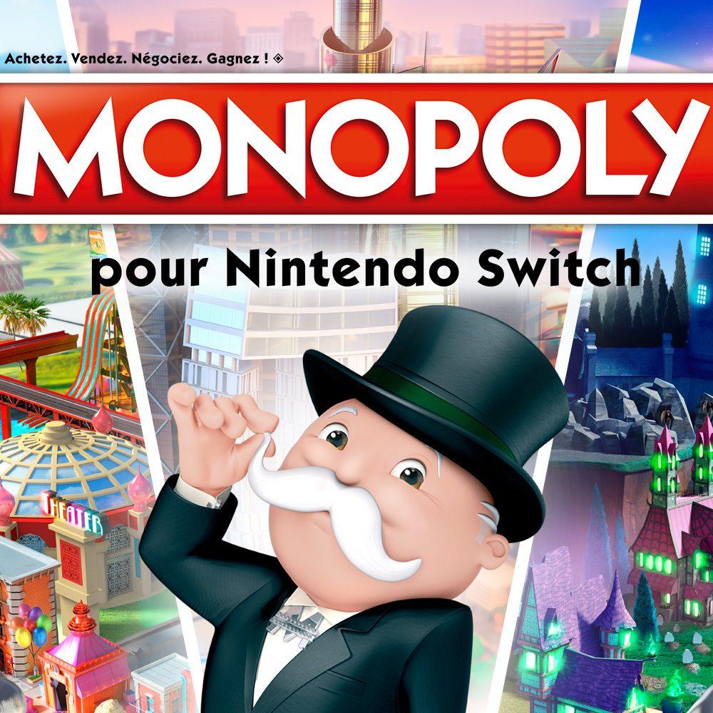 Monopoly sur Switch (dématérialisé)