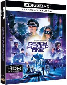 Blu-Ray 4K Ready Player One (import italien)