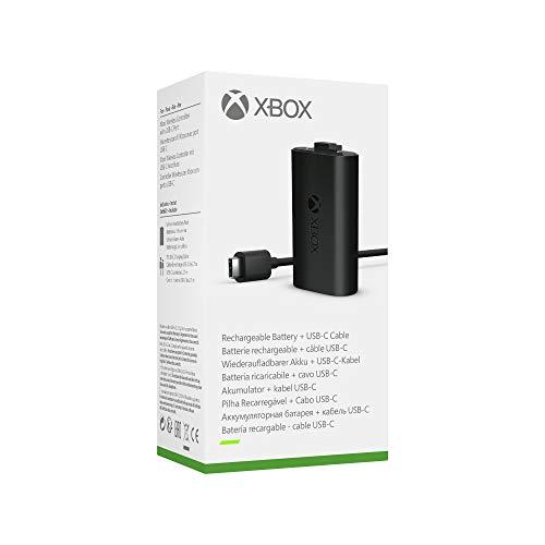 Kit Play & Charge Microsoft Nouvelle Génération pour manettes Xbox Series