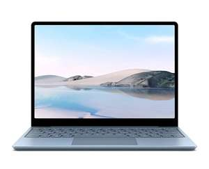 "PC Portable Tactile 12.45"" Microsoft Surface Laptop Go - 1536x1024p, i5-1035G1, 8 Go RAM, 256 Go SSD, Platine, Windows 10"