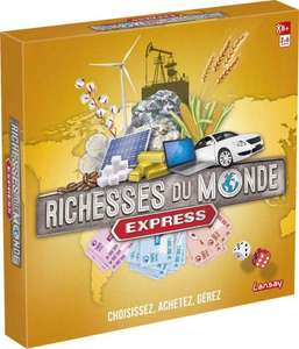 Jeu de société Richesses du Monde Express
