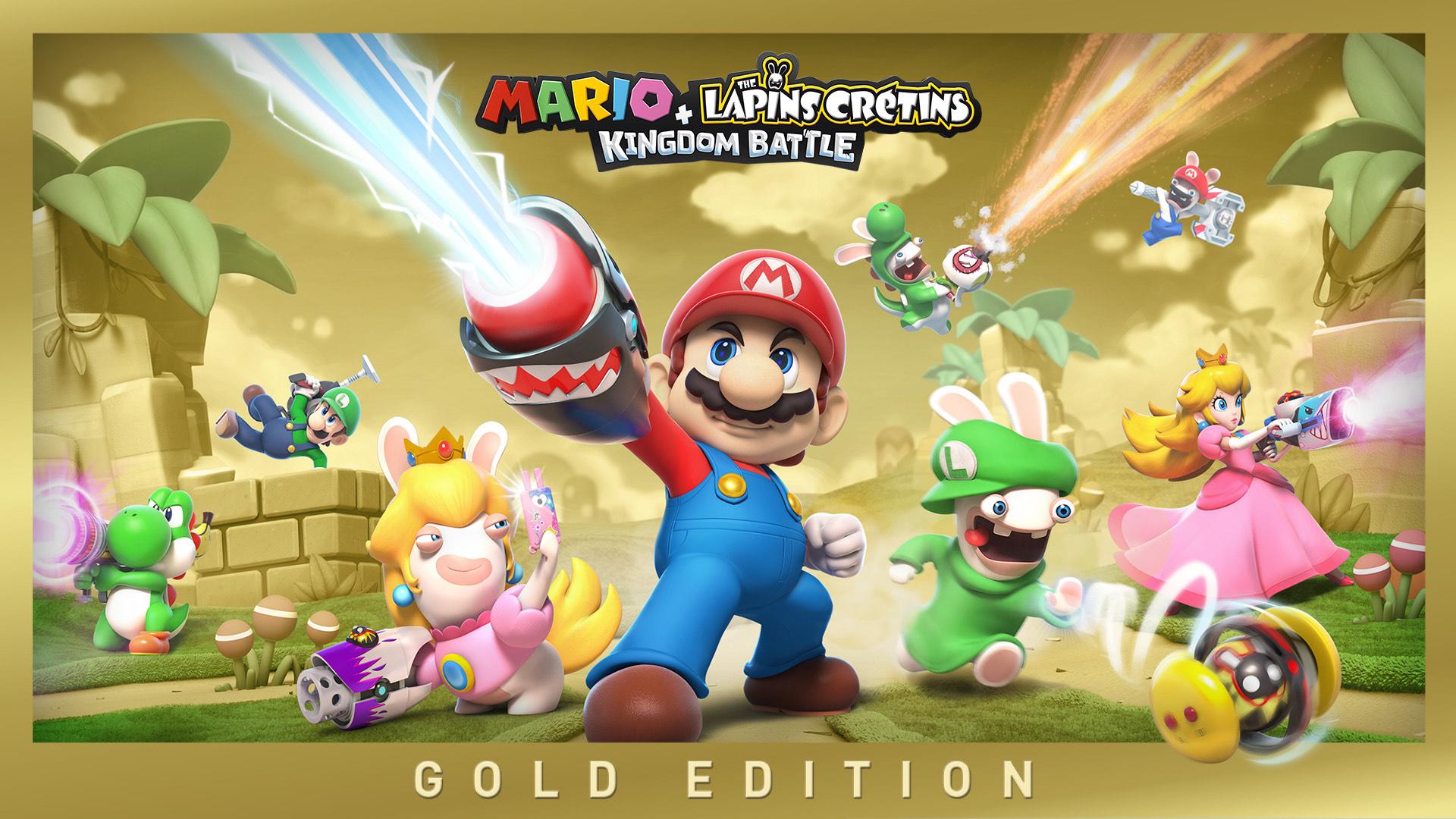 Sélection de jeux Nintendo Switch en promotion - Ex : Mario + Lapins crétins kingdom battue gold édition (Dématérialisé, eShop Russie)