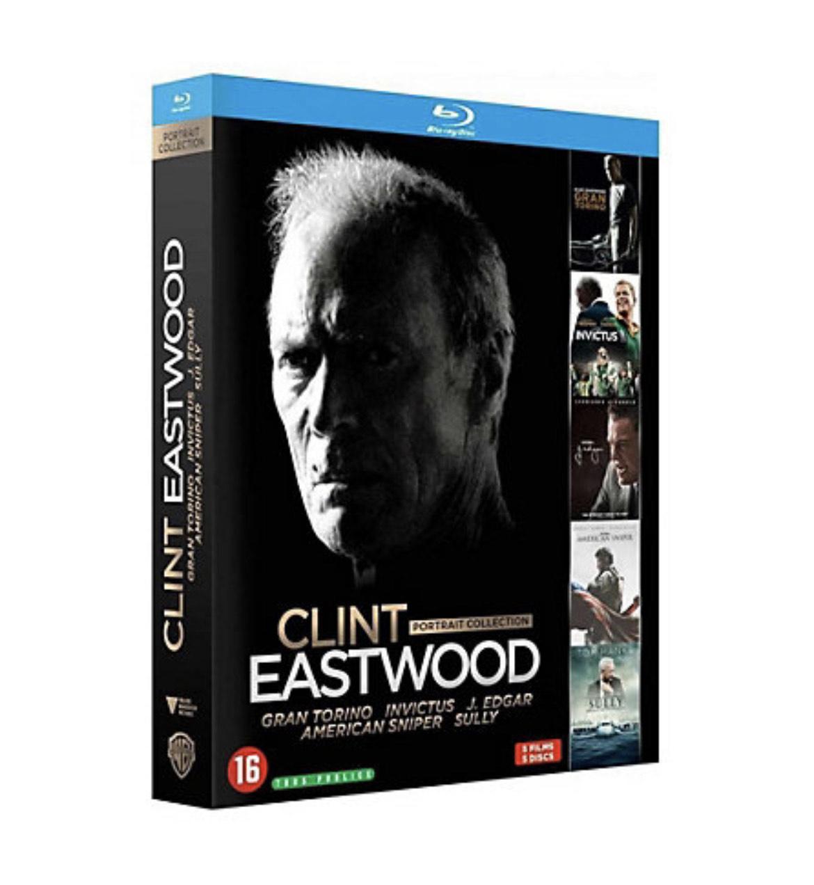 Coffret Blu-ray Clint Eastwood - 5 films