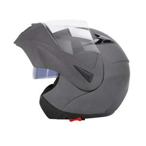 Casque Modulable TBC Gris Anthracite Mat