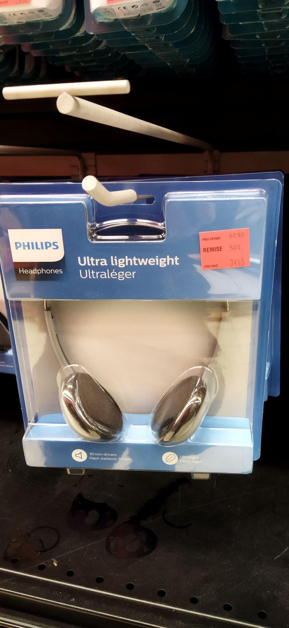 Casque audio filaire Philips Headphones Ultra Lightweight - Vaulx en Velin (69)