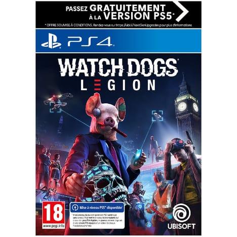 Jeu Watch Dogs Legion sur PS4 et Xbox One - edition standard
