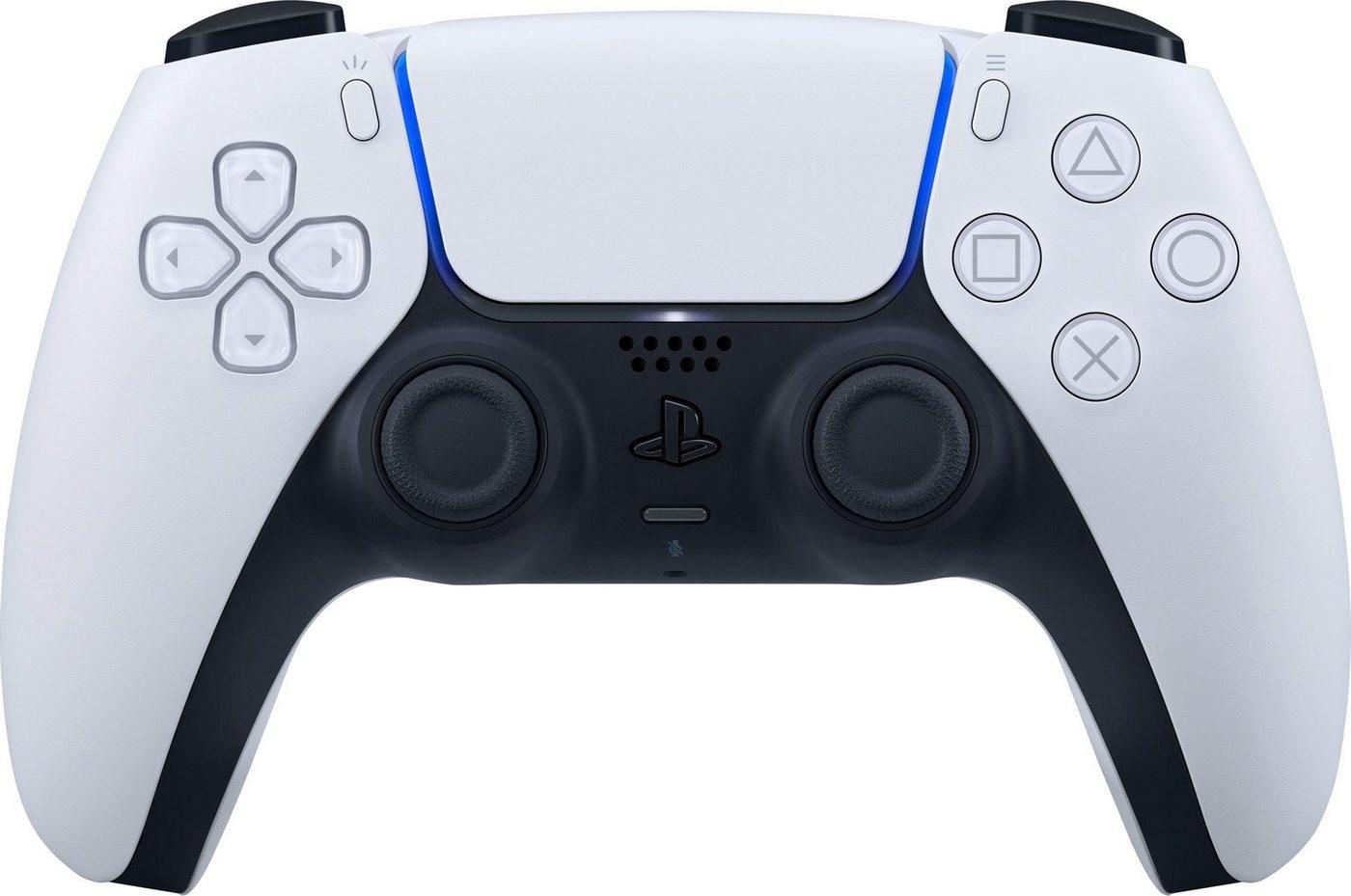 Manette sans-fil Sony DualSense PS5 + 1 mois d'abonnement aux chaînes RMC Sport offert