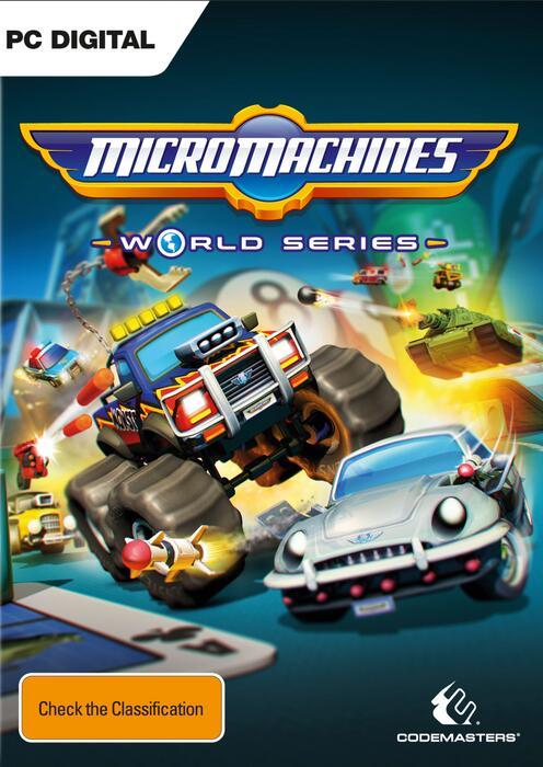 Micro Machine World Series sur PC (Dématérialisé - Steam)