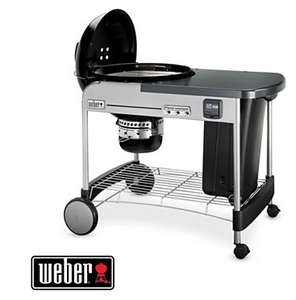 Barbecue charbon Weber Performer Premium GBS 57cm Black + Plancha