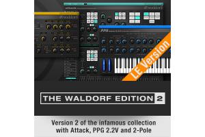 Synthétiseur Waldorf Edition 2 LE + Plugins gratuits (Dématérialisés - VST / AU AAX) - WaldorfMusic.com
