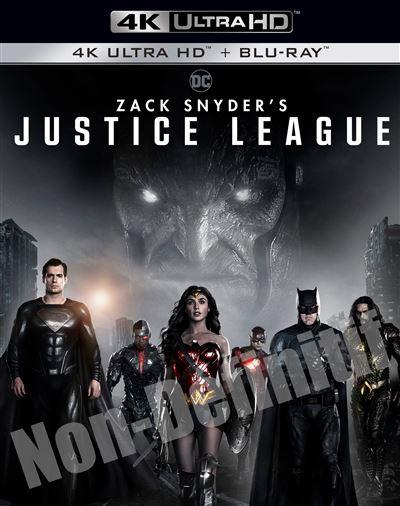 [Pré-commande] Blu-ray 4K UHD Zack Snyder's Justice League (+ Blu-ray)