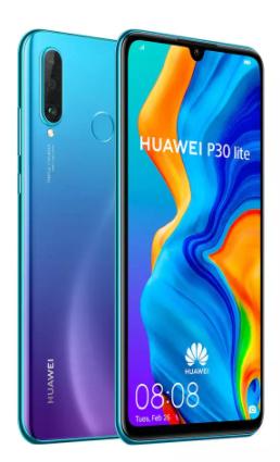 """Smartphone 6.15"""" Huawei P30 Lite - 128Go, 4Go de Ram, Android 9.0"""