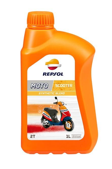 Huile moteur 2 temps Repsol pour moto et scooter - 1L