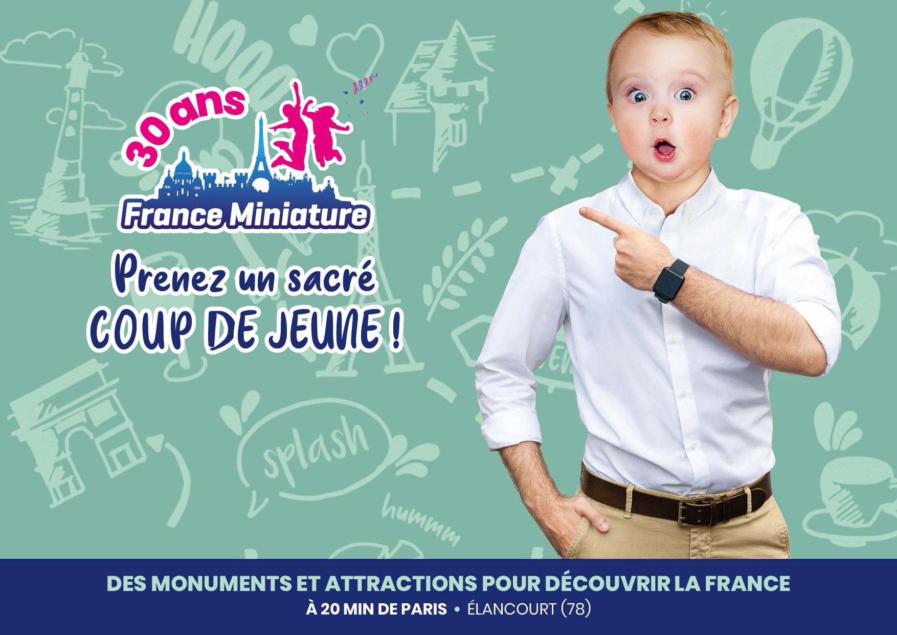 [Nés en 1991] Entrée gratuite au parc France Miniature jusqu'en Novembre 2021 - Elancourt (78)