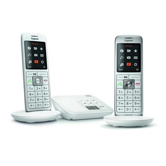 Téléphone Fixe Gigaset CL 660 A Duo Blanc