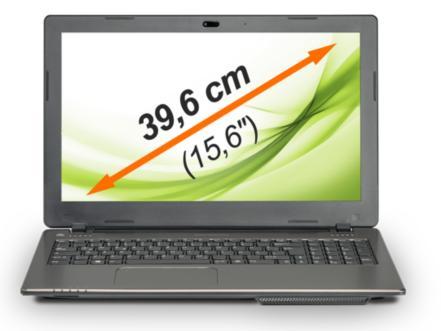 """PC Portable 15,6"""" Medion Akoya E6239 : Intel Celeron N2940, 4 Go RAM, 500 Go HDD"""