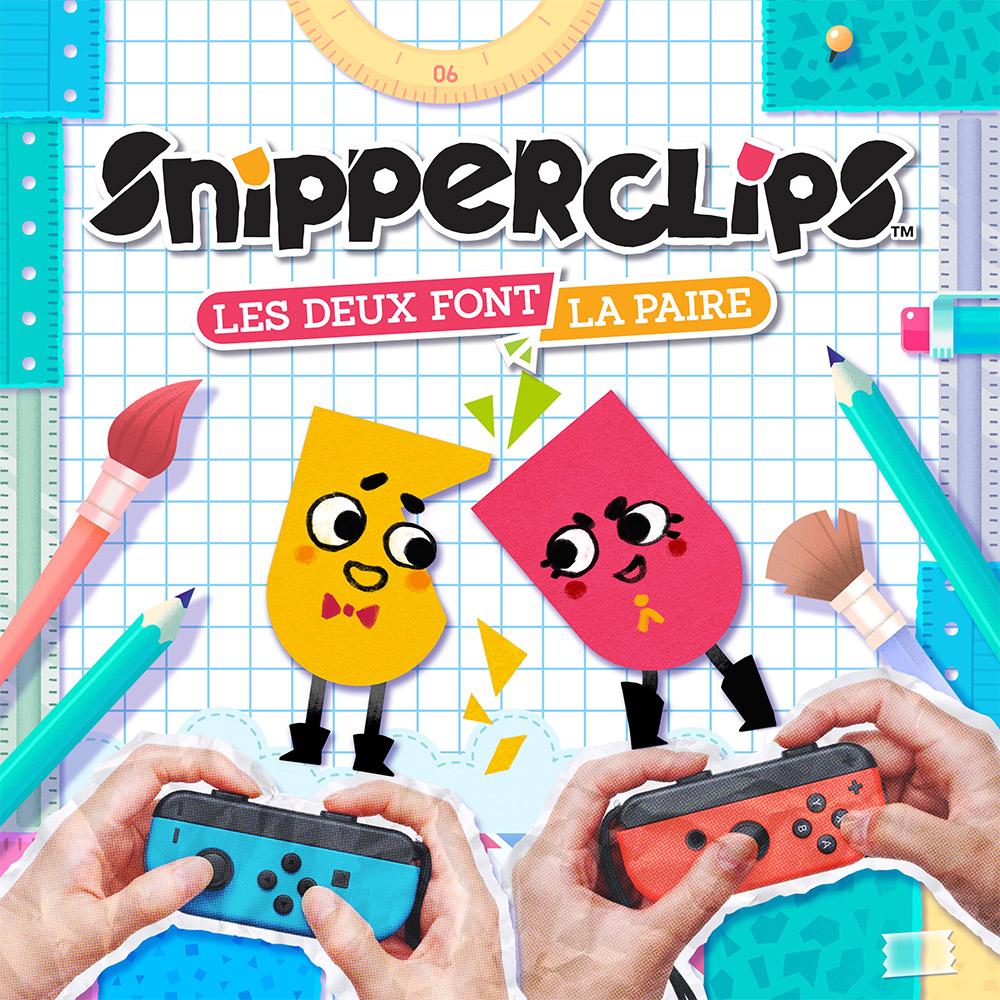 Jeu Snipperclips Les deux font la paire sur Nintendo Switch (Dématérialisé)