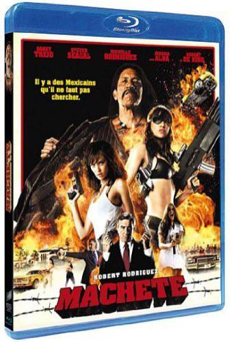 Machete de Robert Rodriguez (en Blu-ray)