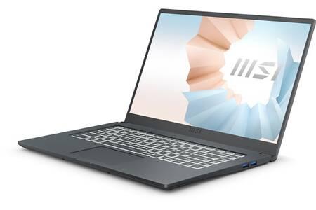 """Pc Portable 15,6"""" MSI MODERN 15 A11SB-008FR - i7-1165G7, 16Go RAM, 512Go SSD, MX450 2 Go"""