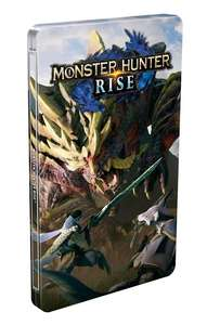 Jeu Monster Hunter Rise sur Nintendo Switch + Steelbook