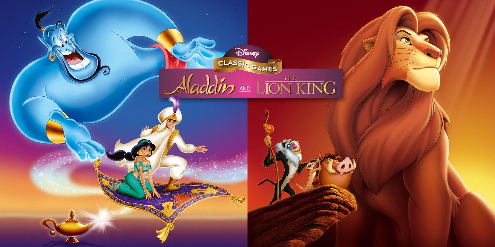 Jeu Aladdin and the Lion King Disney classics games sur Nintendo Switch (Dématérialisé)