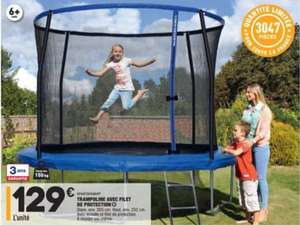 Trampoline - 305cm avec filet de protection