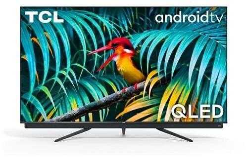 """TV QLED 65"""" TCL 65C815 - 4K UHD, Android TV, 100Hz avec Barre de son Onkyo (via ODR de 100€)"""