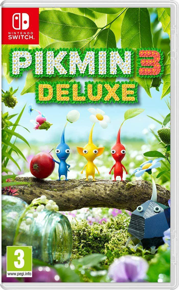 Pikmin 3 Deluxe sur Nintendo Switch (Frais d'importation compris)