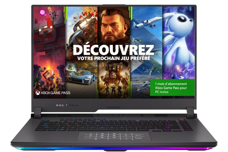 """PC Portable 15.6"""" Asus Strix G15 G513QM-HN178T - Ryzen 9 5900HX, 512 Go en SSD, 16 Go de RAM, RTX 3060 (6 Go)"""