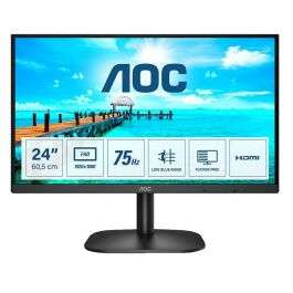 "Écran PC 23.8"" AOC 24B2XHM2 - Full HD, Dalle VA, 75 Hz, 4 ms, VESA"