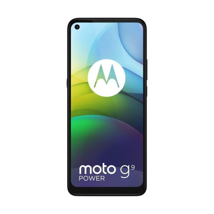 Smartphone Motorola Moto G9 Power - Snapdragon 662, 128Go ROM, 4Go RAM, 6000 mAh (Via ODR 100€)