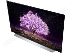 """TV OLED 65"""" LG OLED65C15LA - HDR10, Dolby Vision IQ, Dolby Atmos, Smart TV, Google assistant et Alexa, Airplay2"""