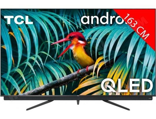 "TV QLED 65"" TCL 65C811 - 4K UHD, HDR10+, 100 Hz, Dolby Vision & Atmos, Android TV (via ODR de 100€)"