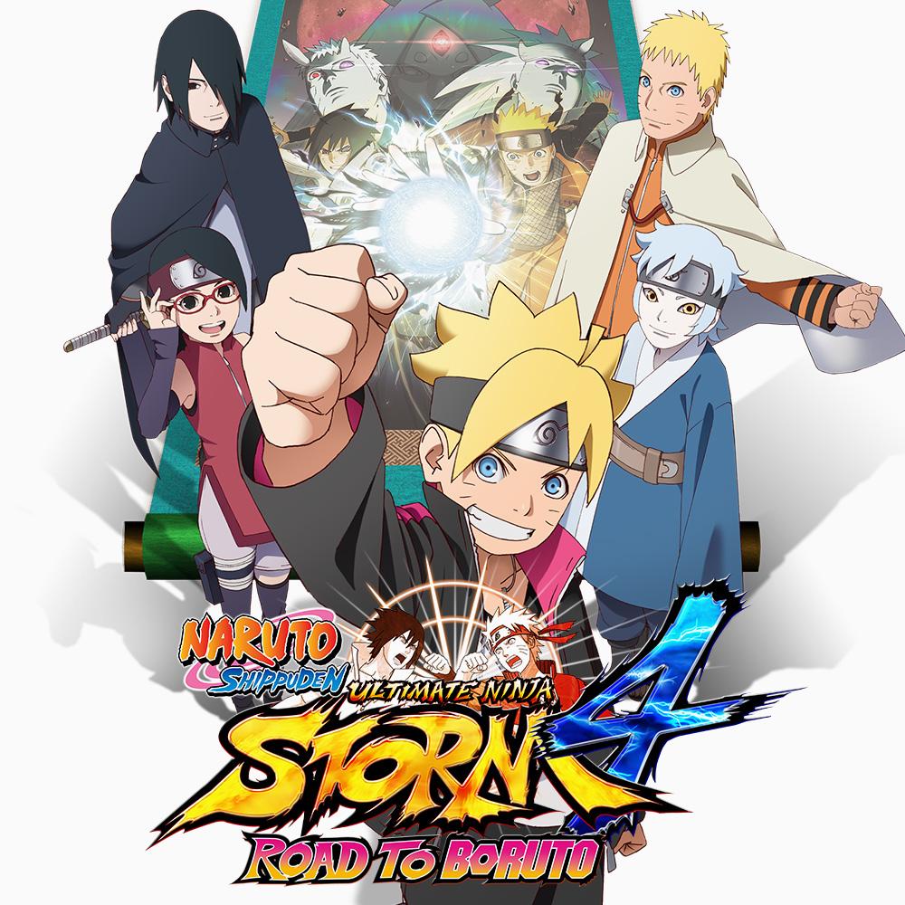 Naruto Shippuden Ultimate Ninja Storm 4 - Road to Boruto sur Nintendo Switch (Dématérialisé - Store RU)