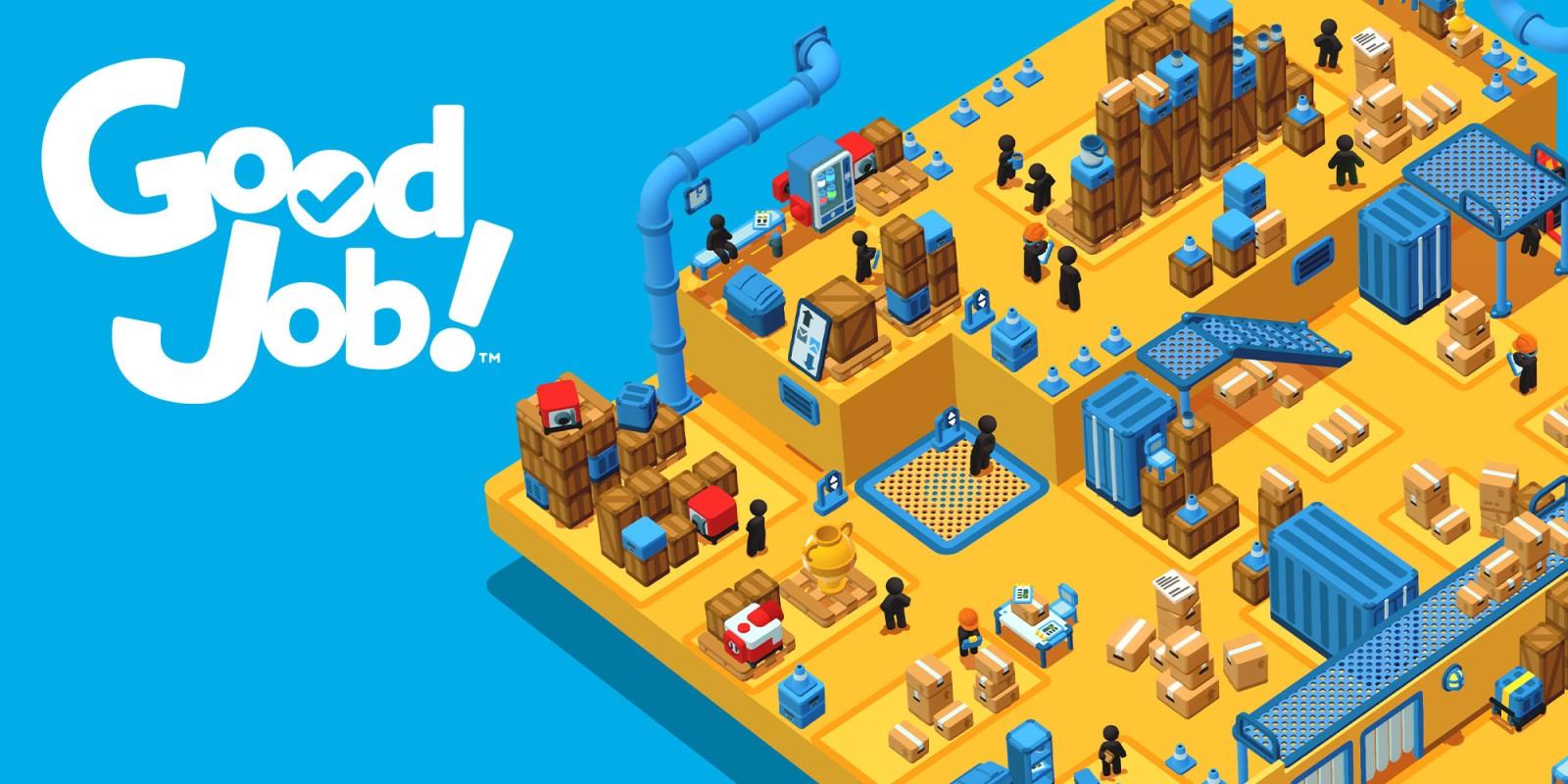 Sélection de jeux en promotion - Ex : Jeu Good Job! sur Nintendo Switch (Dématérialisé)