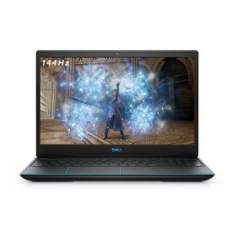 """PC Portable 15.6"""" Dell G3 15-3500 - i5-10300H, 8 Go RAM, 256 Go SSD, Noir éclipse"""