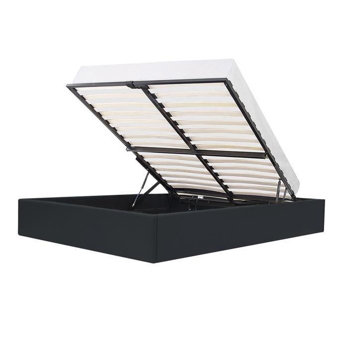 Lit Eclipse avec coffre de rangement - 160 x 200 cm