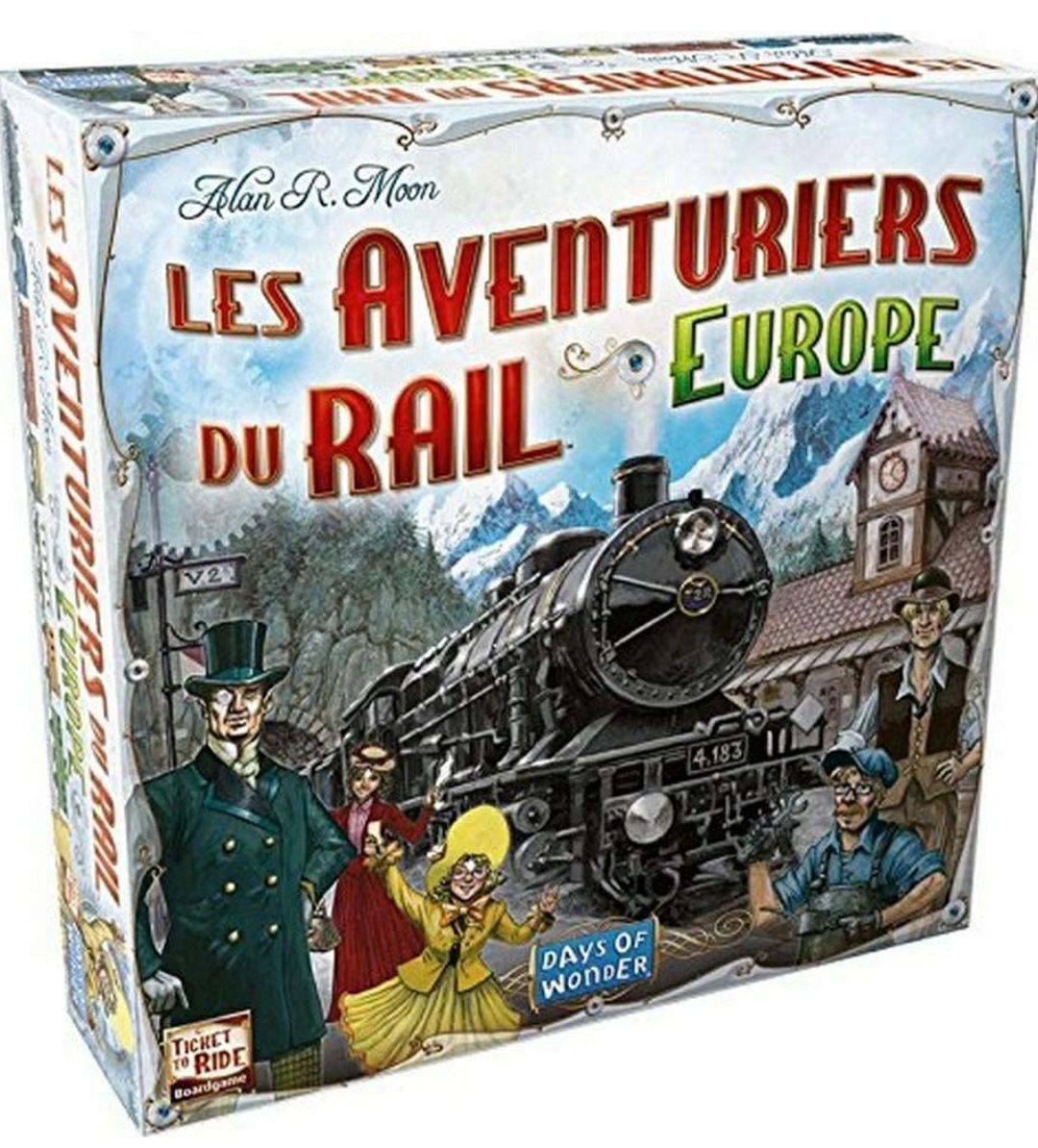Jeu de société Les aventuriers du rail Europe