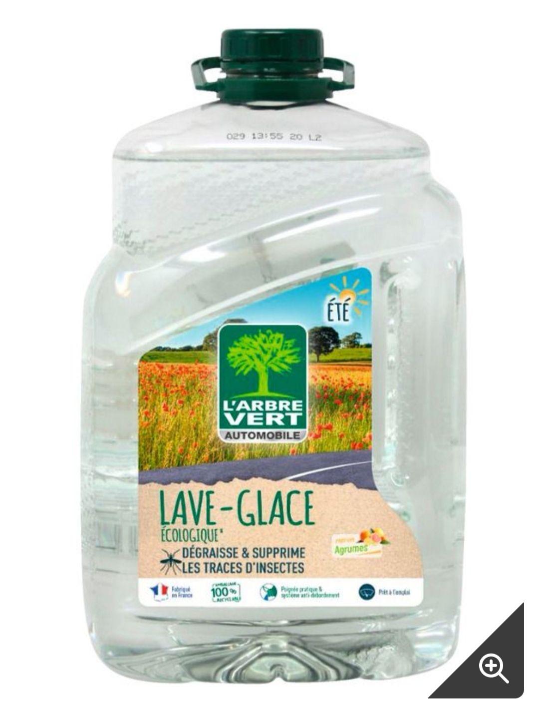 Bidon de 5 litres de liquide lave glace été écologique l'arbre vert (5 litres)