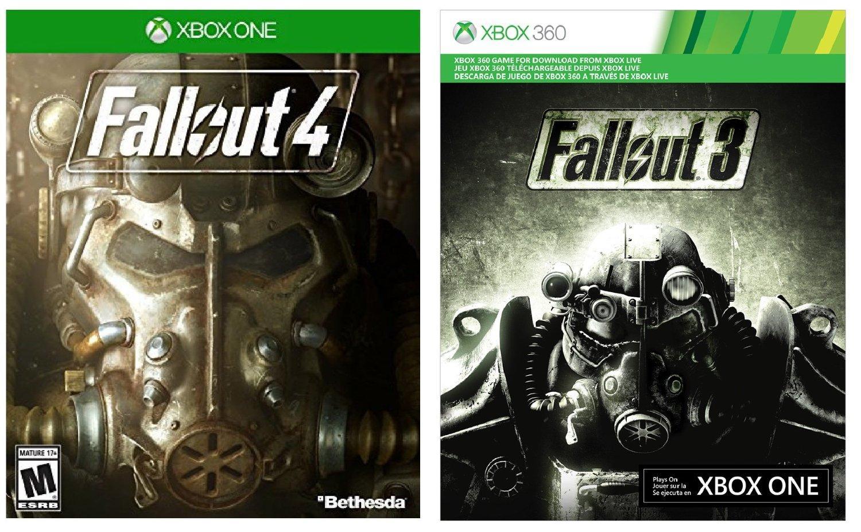 Fallout 4 (Boîte)  + Fallout 3 (Dématérialisé) sur Xbox One