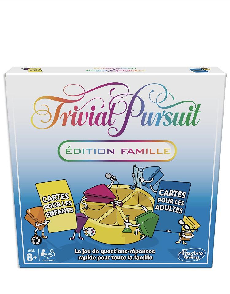 Jeu de société Trivial Poursuit Famille