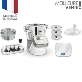 Robot cuiseur Moulinex I Companion Touch XL HF938E00 + Pack Batch Cooking offert (via ODR)