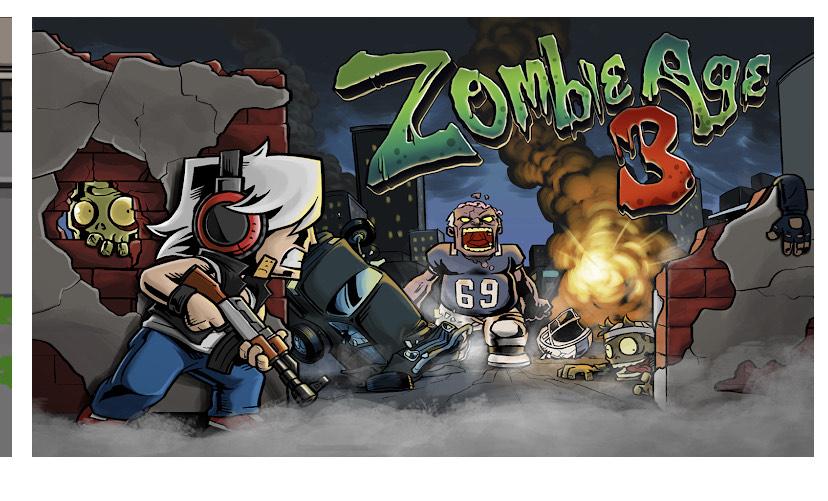 Jeu Zombie Age 3 Premium: Rules of Survival gratuit sur Android