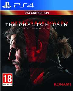 Metal Gear Solid V The Phantom Pain - Edition Day One sur PS4