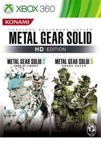Metal Gear Solid HD Edition : 2 & 3 sur Xbox (Dématérialisé)