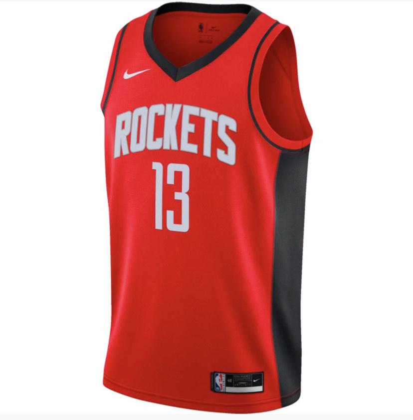 Maillot de Basketball Nike Houston Rocket Icon édition James Harden (20-21) - Taille M